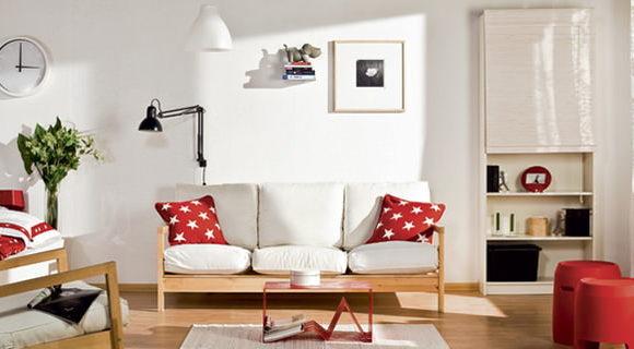 Дизайн проект гостиной-спальни