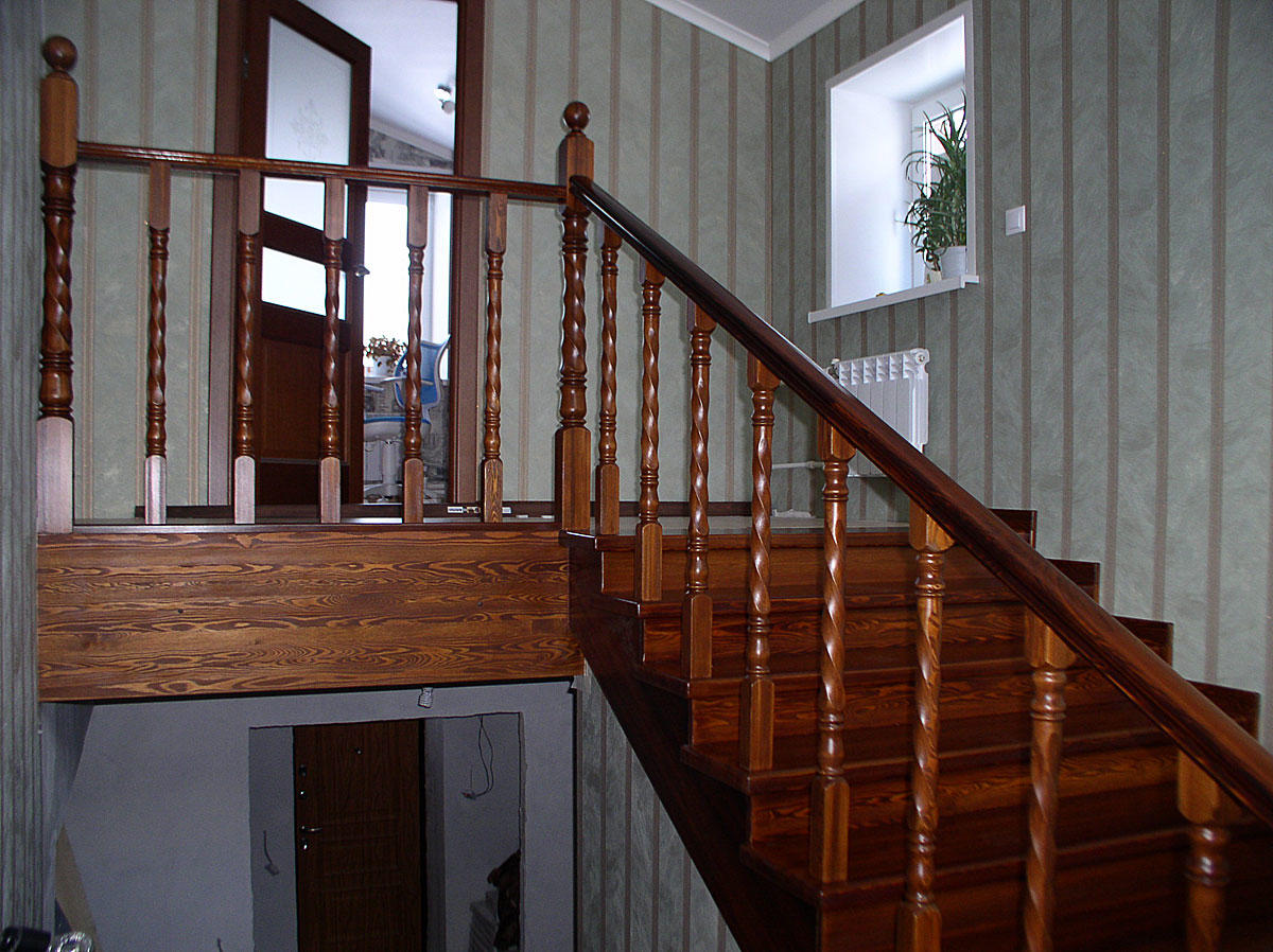 лестницы из лиственницы фото простейших