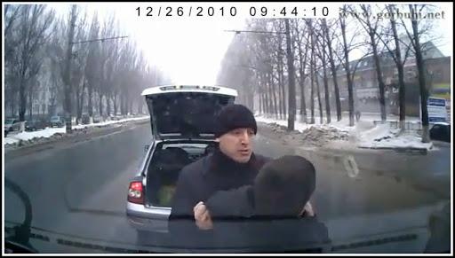 Видеорегистратор спас водителя от подставы. И не только..